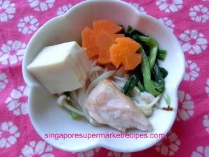 Miso Salmon Fish Head Stew with Happycall pan