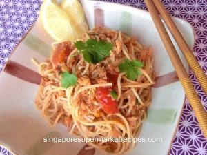 quick & simple chilli crab pasta recipes