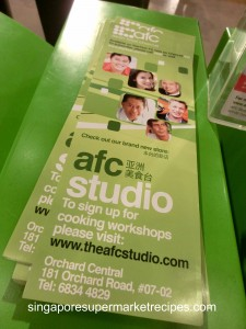 AFC Studio at Orchard Central
