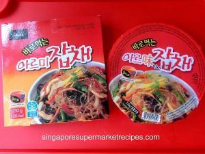 Korean instant jabchae
