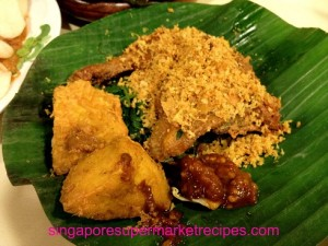 Ayam Penyet Ria Lucky Plaza