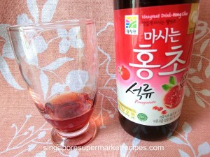 Korean Daesang Red Vinegar Drink