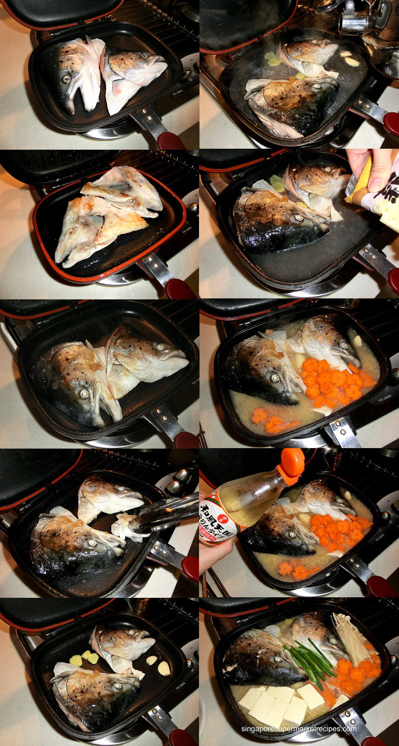 how to cook salmon fish head