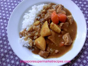 Japanese Curry with Sweet Potato Recipes