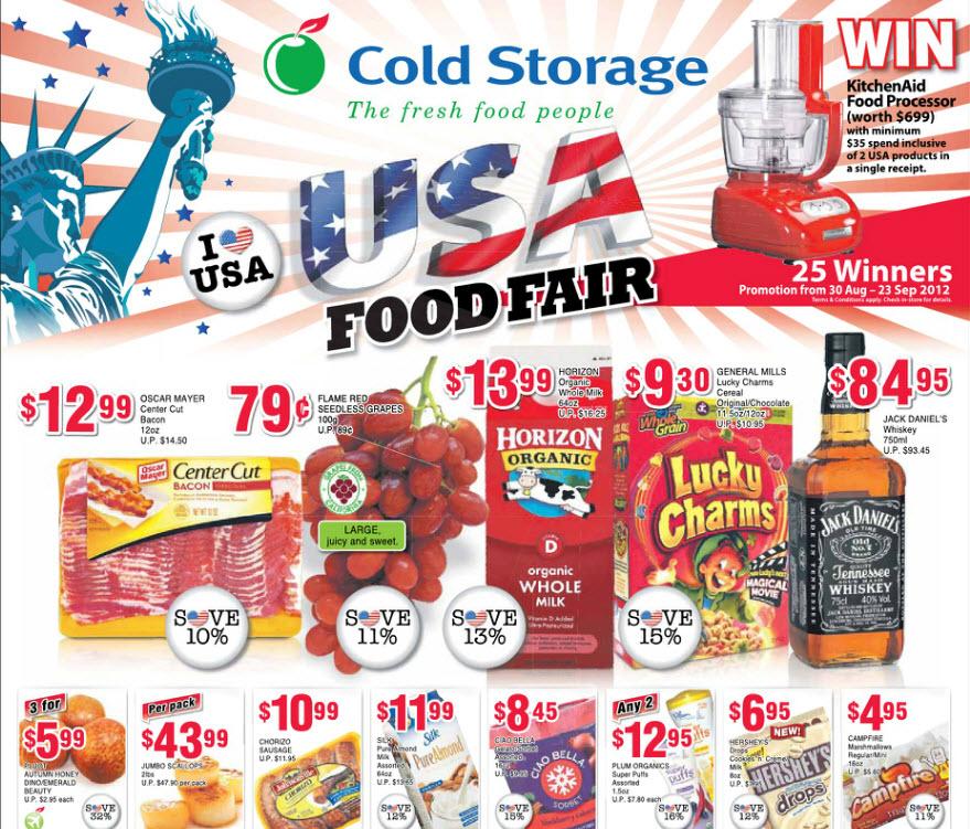 Cold Storage USA Food Fair supermarket promotions ...  sc 1 st  Singapore SuperMarket Recipes & COLD STORAGE / FAIRPRICE / GIANT / SHOP N SAVE SUPERMARKET ...
