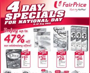 Fairprice 4 days supermarket promotions