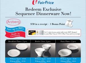 Fairprice Arzberg Dinnerware