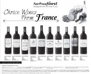 Fairprice Finest wine supermarket promotions