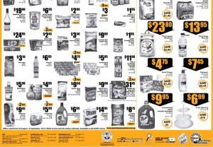 Giant big variety supermarket promotions