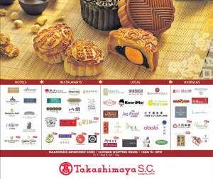 Takashimaya Mooncake Festival