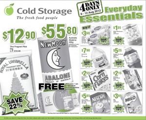 cold storage 4 days  supermarket promotions