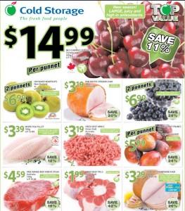 cold storage supermarket promotions