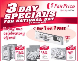 fairprice supermarket 3 day specials national day promotions