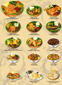 ria ayam penyet menu & pricing