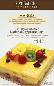rive gauche national day promotions 2012