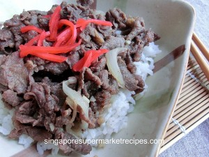 quick and simple japanese beef bowl recipe
