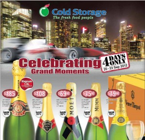 Cold Storage F1  Supermarket Promotions