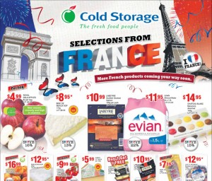 Cold storage france supemarket promotions