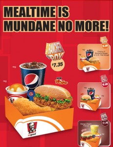KFC New Rancher Burger