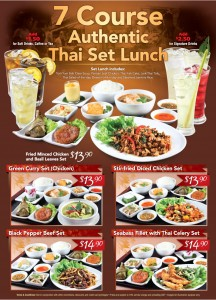 Lerk Thai 7 Course authentic thai set promotions