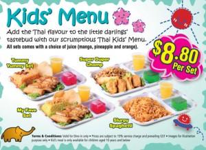 Lerk Thai Kids Menu Promotions