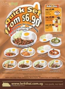 Lerk Thai Quick Set Promotions