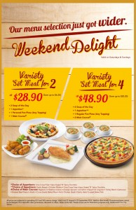 Pizza hut weekend promotions