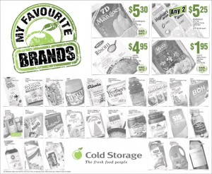 cold storage favourite brands supermarket promotions
