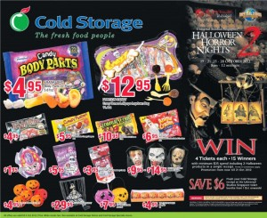 old storage halloween supermarket promotions