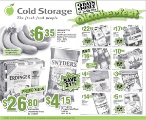 cold storage oktoberfest supermarket promotions