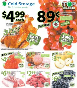 cold storage top value promotions