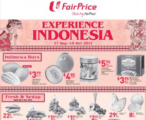 fairprice indonesian supermarket promotions