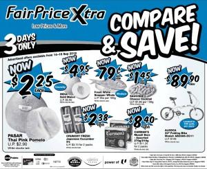 fairprice xtra supemarket promotions