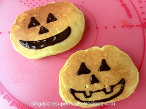 Halloween Pumpkin Pancake Recipes