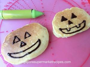 Halloween Pumpkin Pancake Recipes