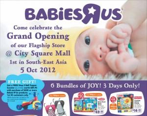 Babies R Us Singapore City Square Mall