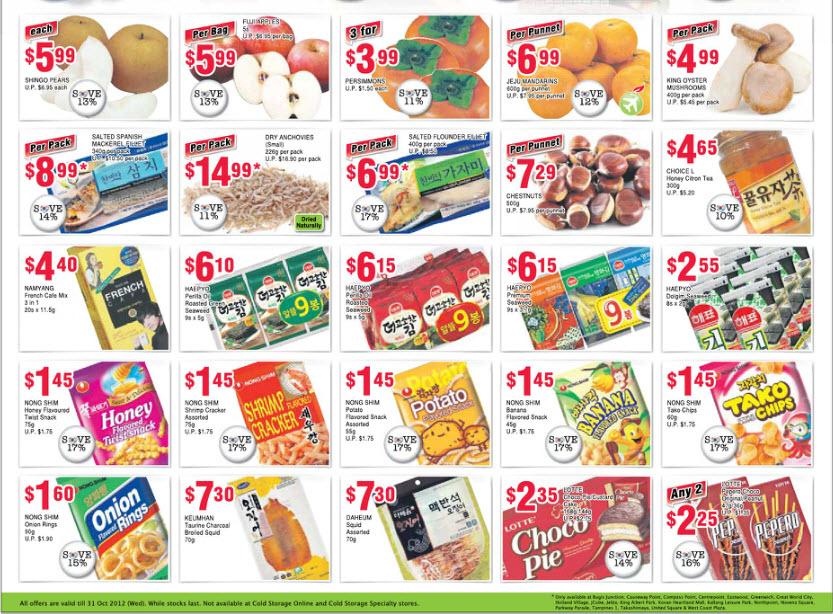 COLD STORAGE SUPERMARKET PROMOTIONS (WEEK 45) – KOREAN FOOD FAIR PROMOTIONS ...