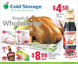 cold storage chicken supermarket promotions