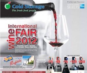 cold storage wine supermarket promotions