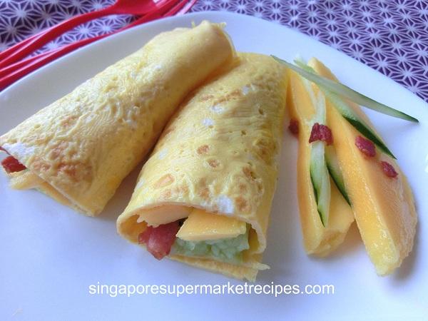 Quick  U0026 Simple Healthy Recipes  U2013 Fresh Mango Summer Egg Roll