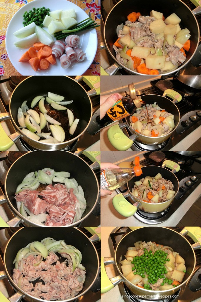Quick & Simple Japanese home cook dishes potato meat stew recipes