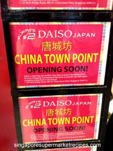Daiso Chinatown Point Opening
