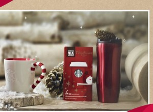Starbucks christmas gift promotions