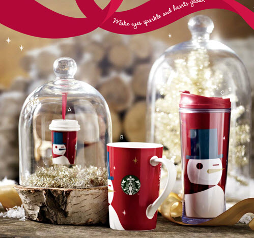 Starbucks Welcomes the Holidays with New In-Store Gift Lineup. As the holiday season approaches, Starbucks® stores will once again offer an assortment of festive gifts including new tumblers, mugs, cold cups, and Starbucks Gift Cards.