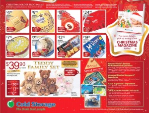 cold storage christmas promotions