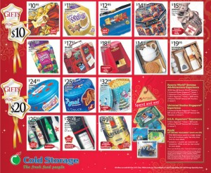 cold storage dazzling christmas supermarket promotions