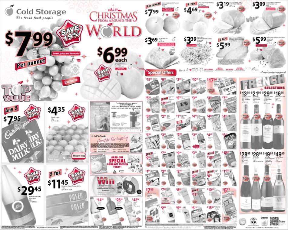 Cold Storage Supermarket Promotions Week 46