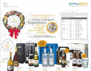 fairprice finest christmas supermarket promotions