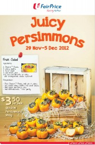 fairprice persimmon supermarket promotions