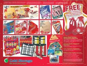 Cold storage around the world supermarket promotions